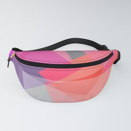 Pinkish Squares Fanny Pack