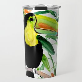 Toucan, Tropical Art, tropics Travel Mug