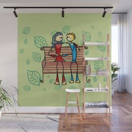 Life and living Wall Mural