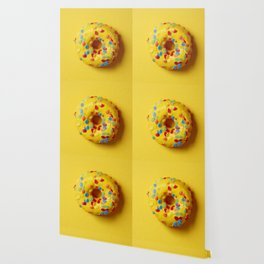Colorful Donut Wallpaper