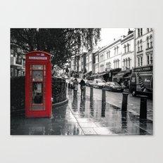 Portobello Road London Canvas Print