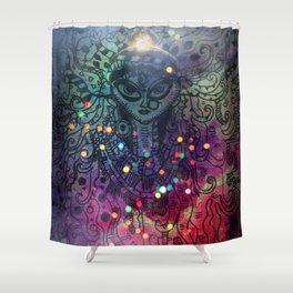 Durga the Goddess Shower Curtain