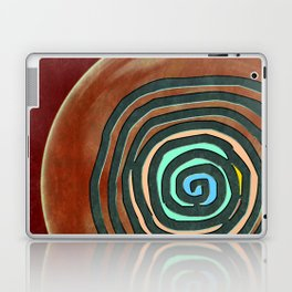 Tribal Maps - Magical Mazes #02 Laptop & iPad Skin