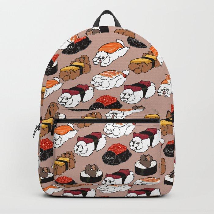 Sushi Poodle Backpack