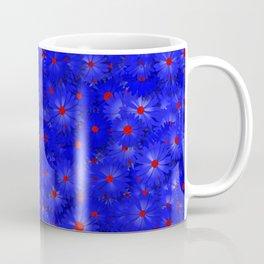 blue daisy flowers Coffee Mug