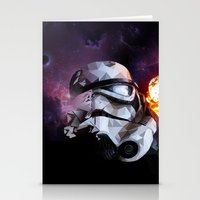 stormtrooper Stationery Cards featuring Stormtrooper by Ruveyda & Emre