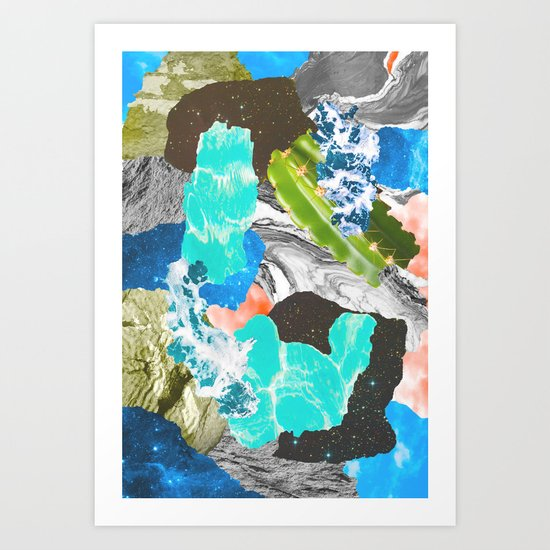 Layers of the Earth Art Print