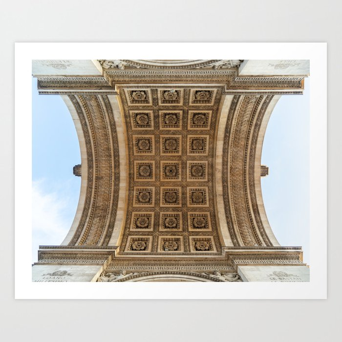Arc de Triomphe II Art Print