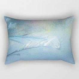 Frosty pattern (fragment) Rectangular Pillow