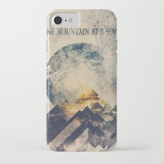 One mountain at a time iPhone 8 Slim Case