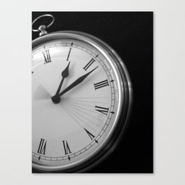 Eight Seconds Canvas Print