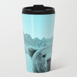 Bear With Me Metal Travel Mug