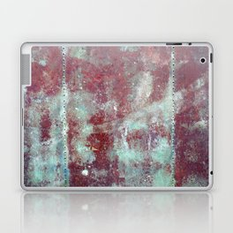 Background. Grunge and rusty metal surface Laptop & iPad Skin