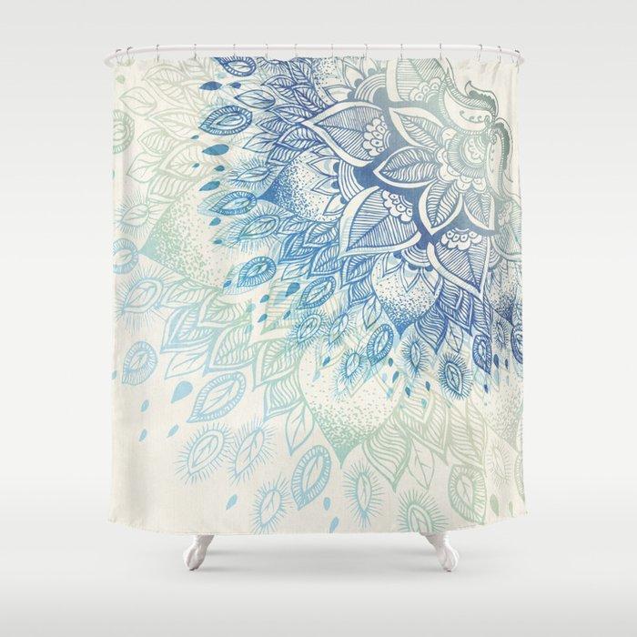 Dahlia Shower Curtain By Rskinner1122