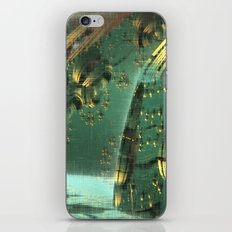 Cannon Battery (Crosshatch Explosion) iPhone & iPod Skin