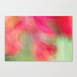 Pink Flower Dreaming Canvas Print