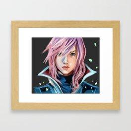Lightning Farron Framed Art Print