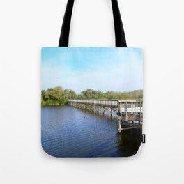 Lake front Tote Bag