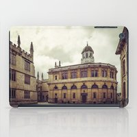 theater iPad Cases featuring Oxford: Sheldonian Theater by Solar Designs