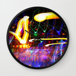 Love Moves Fast Wall Clock