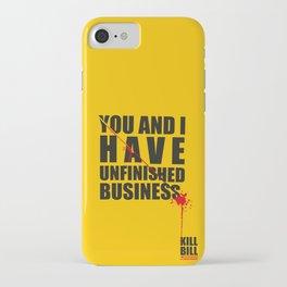 Kill Bill Minimal Poster 2.0 iPhone Case