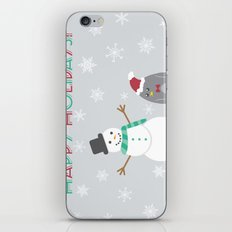 Happy holidays! iPhone & iPod Skin