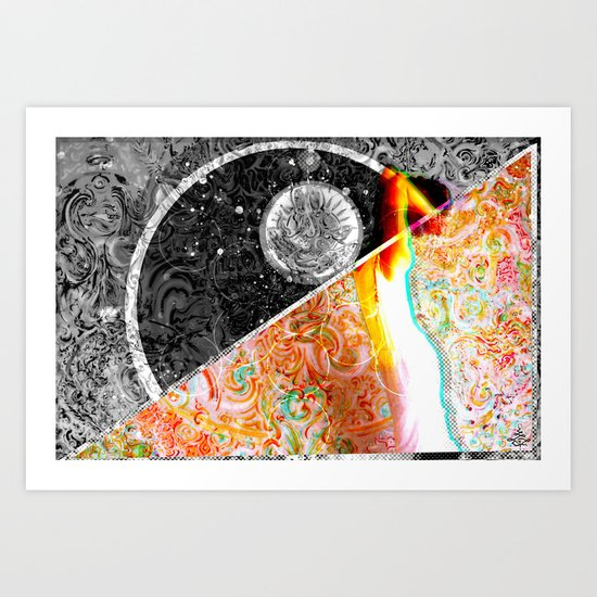 Mus^ion° Art Print