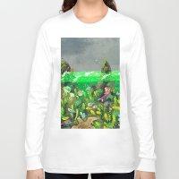 underwater Long Sleeve T-shirts featuring Underwater by Lara Paulussen