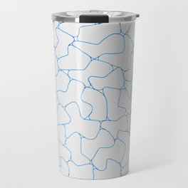 Stone Wall Drawing #1 Travel Mug