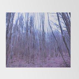 Trees of Olympus Throw Blanket