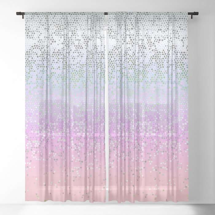 Glitter Star Dust G251 Sheer Curtain