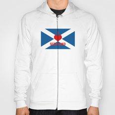 Scotland Flag Saltire Hoody