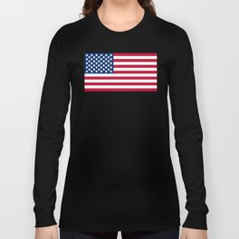 Flag Of The United Meeples Long Sleeve T-shirt