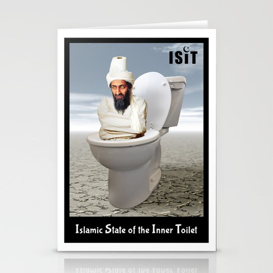 Islamic State of the Inner Toilet Stationery Cards
