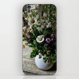 July Bouquet iPhone Skin