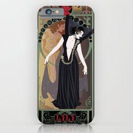 Dark Lili Nouveau - Legend iPhone Case