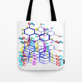 """THC: ENHANCE & TRANSMIT"" Tote Bag"