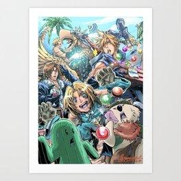 Final Fantasy Fanfare Art Print