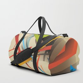 Abstractionist – Sanity is Madness Duffle Bag