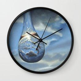 Tears In His Bottle Wall Clock