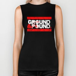 Ground & Pound. Biker Tank