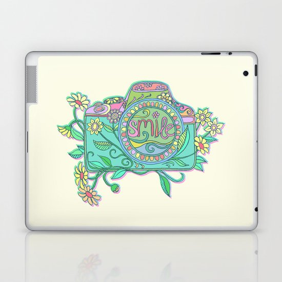 Smile for the Camera Laptop & iPad Skin