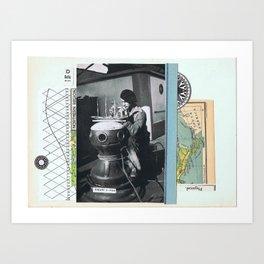 Delta —•• Art Print