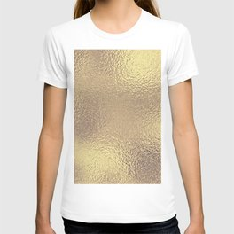 Simply Metallic in Antique Gold T-shirt