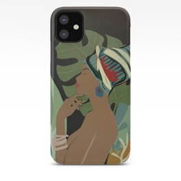 Woman with a Tuban iPhone Case