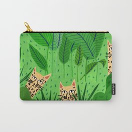 Leopards in the jungle Carry-All Pouch