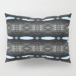 Oak Tree Blue Portal Nature Pattern by Debra Cortese Designs Pillow Sham