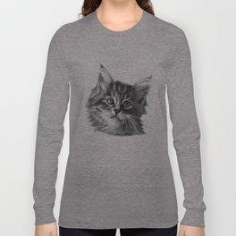 Maine Coon kitten G114 Long Sleeve T-shirt