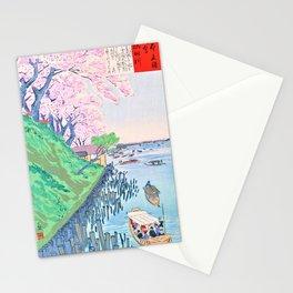 Kobayashi Kiyochika - Sketches of the Famous Sights of Japan - Sumida River - Digital Remastered Edition Stationery Cards