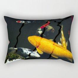 Koi III Rectangular Pillow